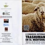 II Congreso Internacional de Trashumancia en el Mediterráneo