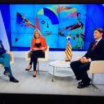 Cardells destaca a Jaume I como héroe fundacional en 8 Mediterráneo TV