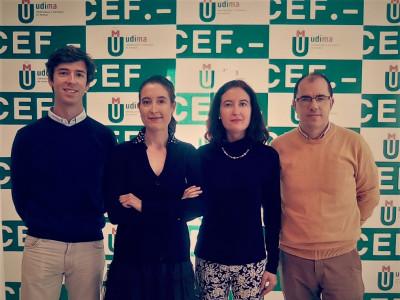 Dr. Lucas Montojo, Dra. María Lara, Dra. Laura Lara y Dr. Francisco Cardells-Martí