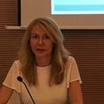 La doctora Escribano analiza los símbolos empleados por el Banco de España en el V Congreso Universitario de Historia Comarcal