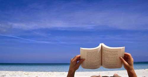 Libros y playa