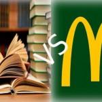 Bibliotecas vs McDonald's