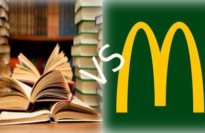 Bibliotecas y McDonalds