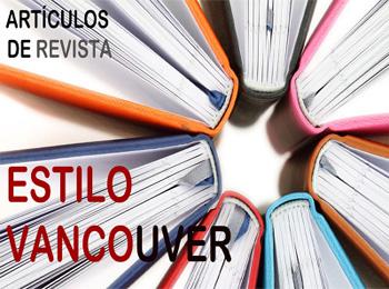 Vancouver Artículos de Revista