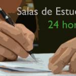 Salas de estudio 24 horas, ¿te interesa?
