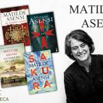 La autora elegida es… Matilde Asensi