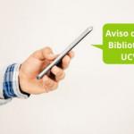 Aviso por obras – Biblioteca Santa Úrsula