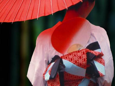 La mujer del kimono blanco Portada