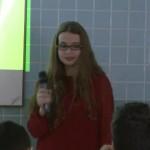 Exposición de presentaciones orales en inglés