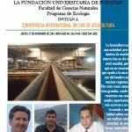 Conferencia on-line del profesor Jerónimo Chirivella: acuicultura y lucha contra el hambre