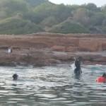 Prospección de los fondos marinos de la Reserva Marina de la Serra de Irta, por investigadores del IMEDMAR