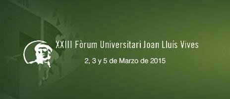 Actos del XXIII Foro Universitario en la Universidad Católica de Valencia