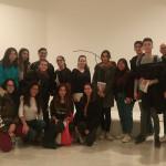 Soy Cultura UCV visita la exposición de Andreu Alfaro