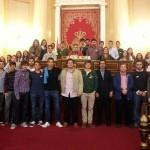 Visita al Senado por estudiantes de 1ºA