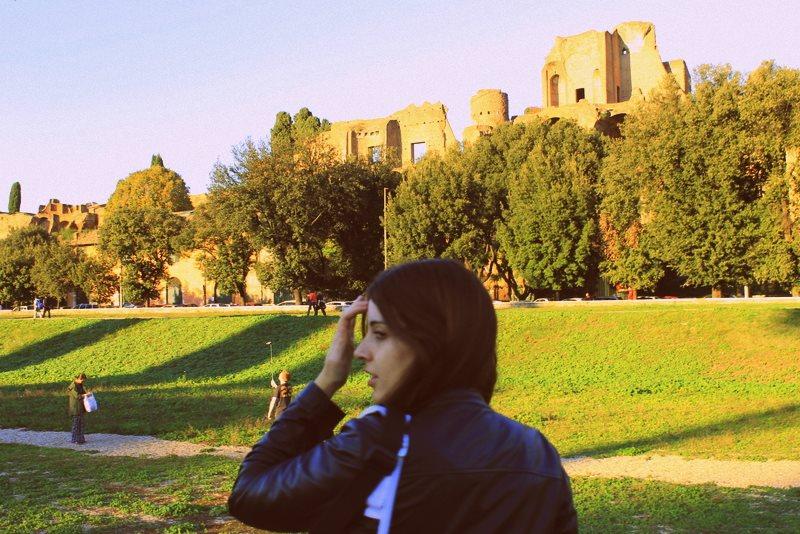 Estudiante UCV en Roma Erasmus