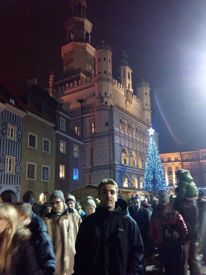 Estudiante en Poznan con la beca Erasmus