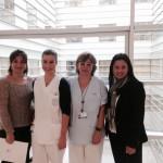 Prácticas en el Hospital Gregorio Marañón de Madrid. Visita de profesoras de la Oficina de Prácticas de Enfermería a UPSA en Madrid.