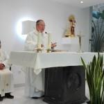 Visita a la Facultad de Monseñor  D. Esteban Escudero, Obispo Auxiliar de Valencia