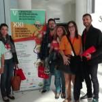 Profesores y alumnos de la Facultad en el V Congreso Internacional de Enfermería de la Infancia, XXI Jornadas nacionales de Enfermería de la Infancia.