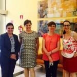 Visita de profesoras de la Wroclaw Medical University de Polonia