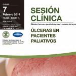 Jueves 7 de febrero: Sesión Cátedra Hartmann: Úlceras en Pacientes Paliativos