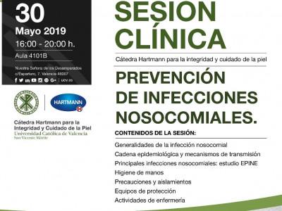 Prevención de infecciones nosocomiales. 30 mayo 2019