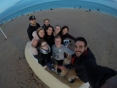 Alumnos de la UCV en ENPHE 16