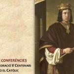 COMMEMORACIÓ V CENTENARI FERNANDO EL CATÒLIC EN LA REAL ACADÈMIA DE CULTURA VALENCIANA