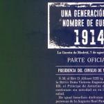 La UCV presenta este martes el libro 'Una generación con nombre de guerra: 1914', coordinado por el profesor Federico Martínez Roda