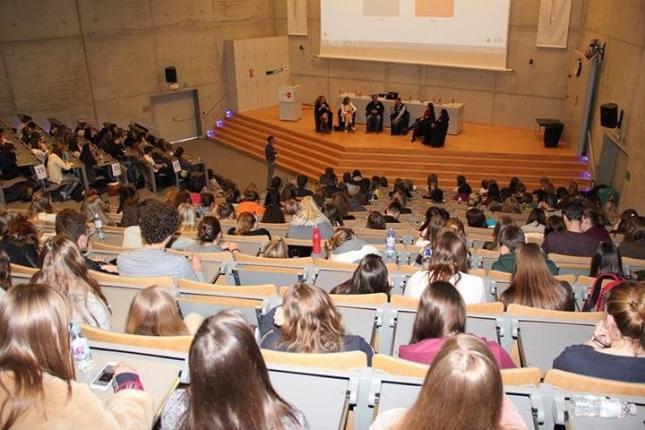 Congreso de Enfermería en Katholieke Hogeschool Vives, Brujas.