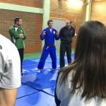 Judo olímpico en la Facultad de Magisterio