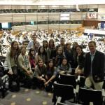 Estudiantes del Máster en Marketing Político visitan Bruselas y asisten a EuroPCom