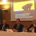El plan E3 de Antonio Núnez sobre la gestión pública y privada