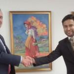 El Programa MUNDUS de la UCV  y la Universidad Cooperativa de Colombia firman un convenio de colaboración
