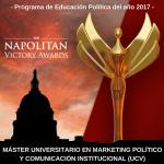 NUESTRO MÁSTER PREMIADO CON UN NAPOLITAN VICTORY AWARD EN EEUU
