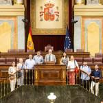 VISITA AL CONGRESO DE LOS DIPUTADOS Y LA EMBAJADA ITALIANA EN MADRID CON LOS ALUMNOS DEL MÁSTER