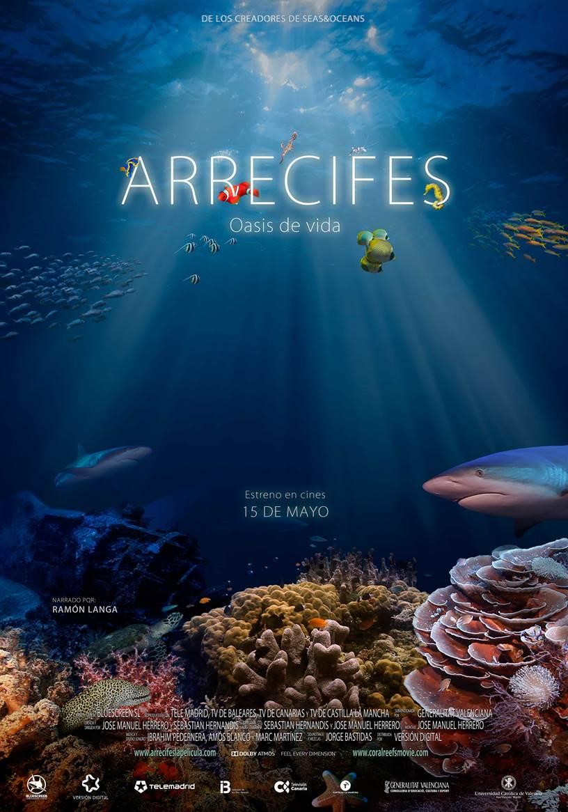 Cartel de Arrecifes. Oasis de vida