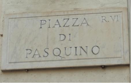 Plaza Pasquino