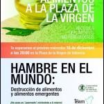 Team People: lleva alimentos a la Plaza de la Virgen