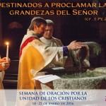 Orando por la unidad de los cristianos