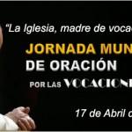 «La Iglesia, madre de vocaciones»