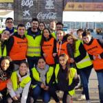 Estudiantes en la fiesta del Maratón