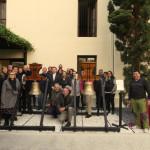 Bendición de Campanas en la sede de Santa Úrsula