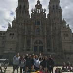 La UCV realiza el Camino de Santiago