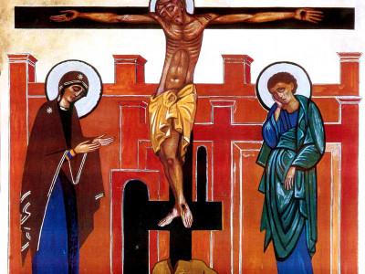 maria al pie de la cruz