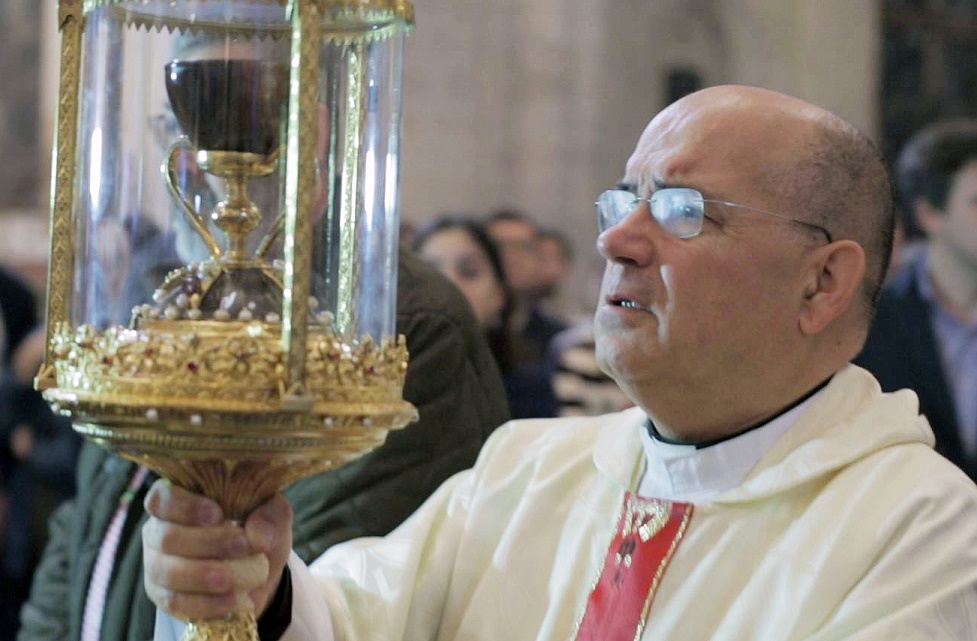 Peregrinacion Santo Caliz UCV Cáliz2
