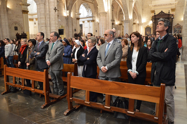 Peregrinacion Santo Caliz UCV Misa