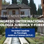XI Congreso (Inter) Nacional de Psicología Jurídica y Forense, Granada.
