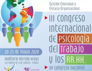 III Congreso Internacional de Psicología del Trabajo y los RR.HH.
