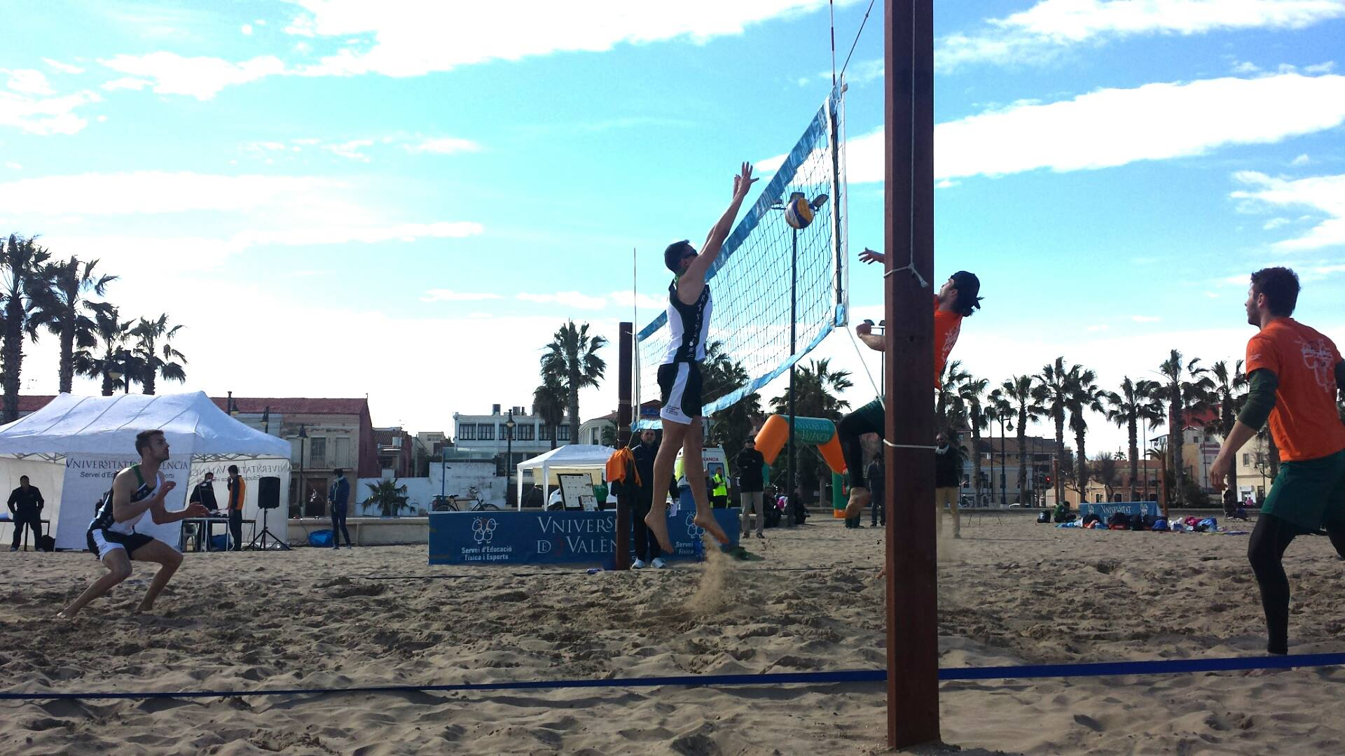 Voley Playa UCV